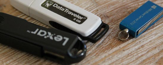 USB keys that will inevitably fall off your keychain